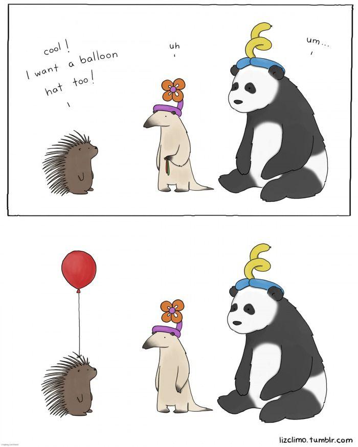 Vrea și el un balon mă…