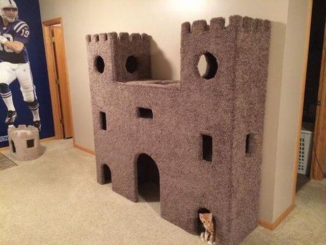 Un castel numai pentru mine?